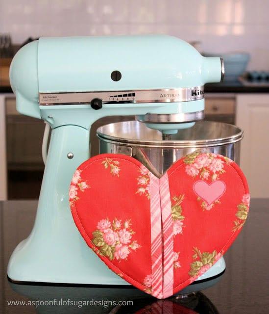 Valentine potholder