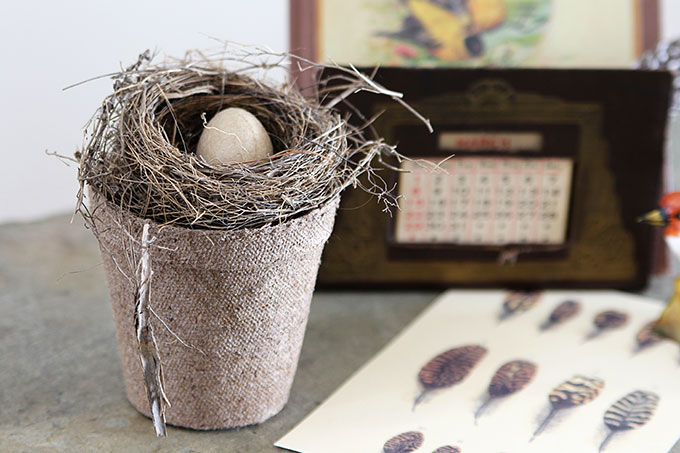 Modern Rustic Wall Decor Wood Art Birds Nest Home Best Creative