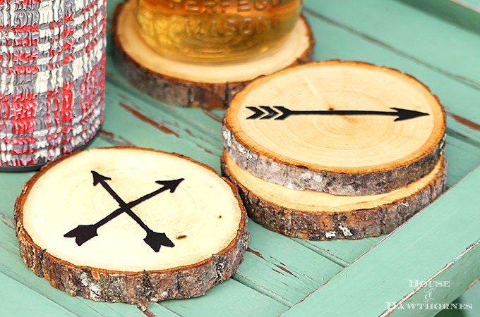 DIY Wood Slice Coasters: The Easy Way