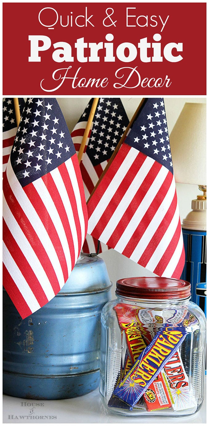 Lazy girl 39 s guide to 4th of july decorations house of for Decor quick