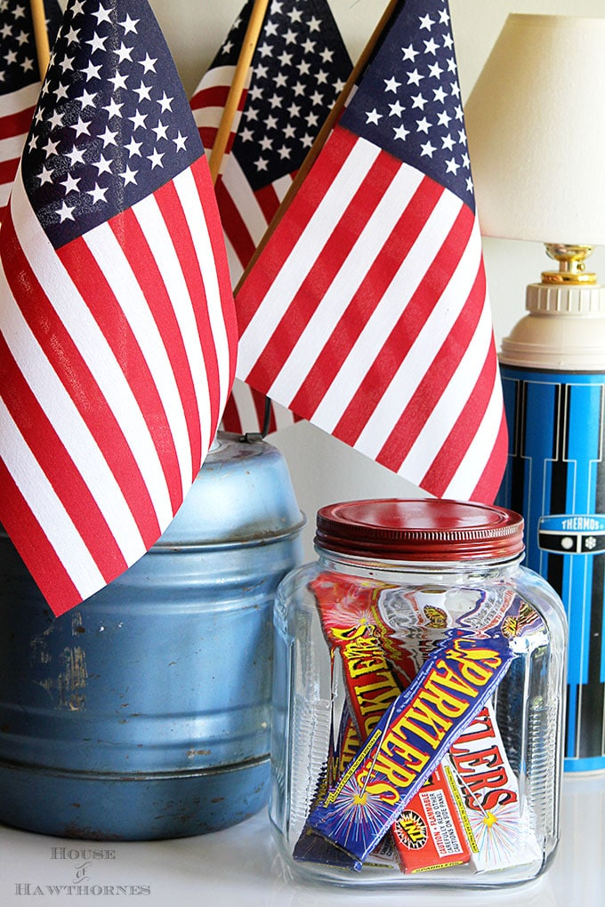 Diy 4th Of July Decorations Quick And Easy House Of Hawthornes