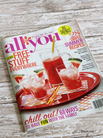 July 2015 All You Magazine feautre