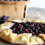 A 30 minute Blueberry Crostata Recipe. Also known as galette, rustic pie or rustic tart, it is perfect for new bakers You can't go wrong with this one.