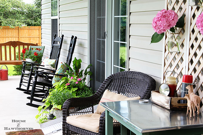 baby got back porch ideas - house of hawthornes