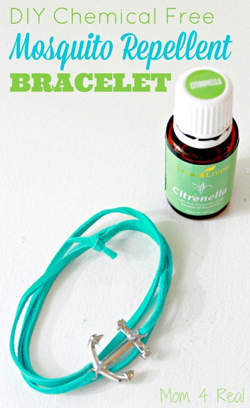 DIY chemcial free mosquito repellent bracelet
