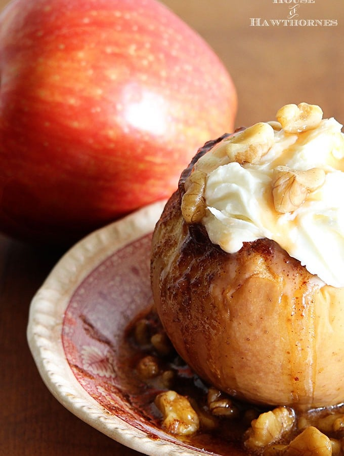 Crockpot Baked Apple Recipe