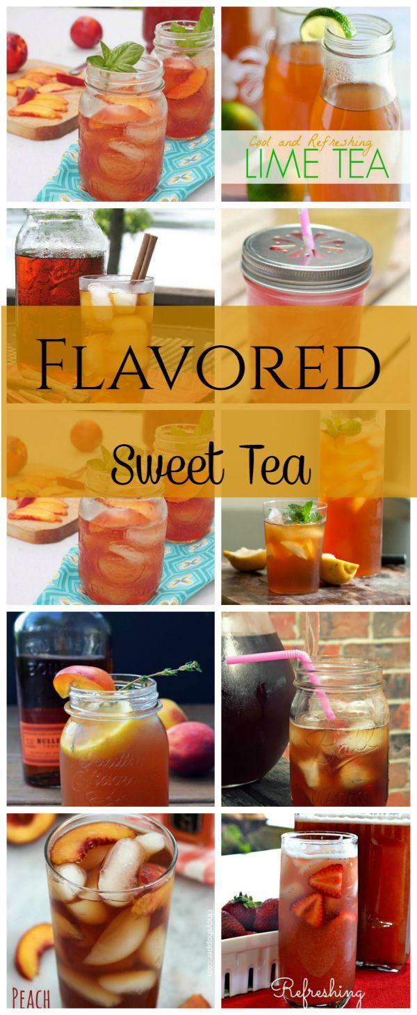 Flavored Ice Tea Recipes