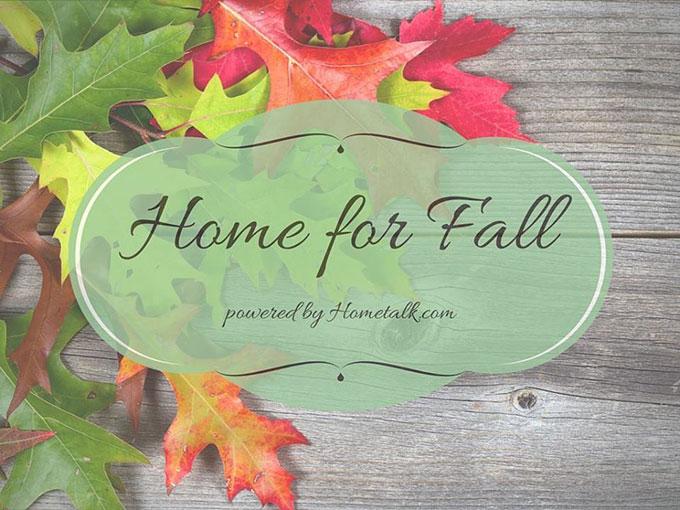 Hometalk Bloggers Fall Home Tour
