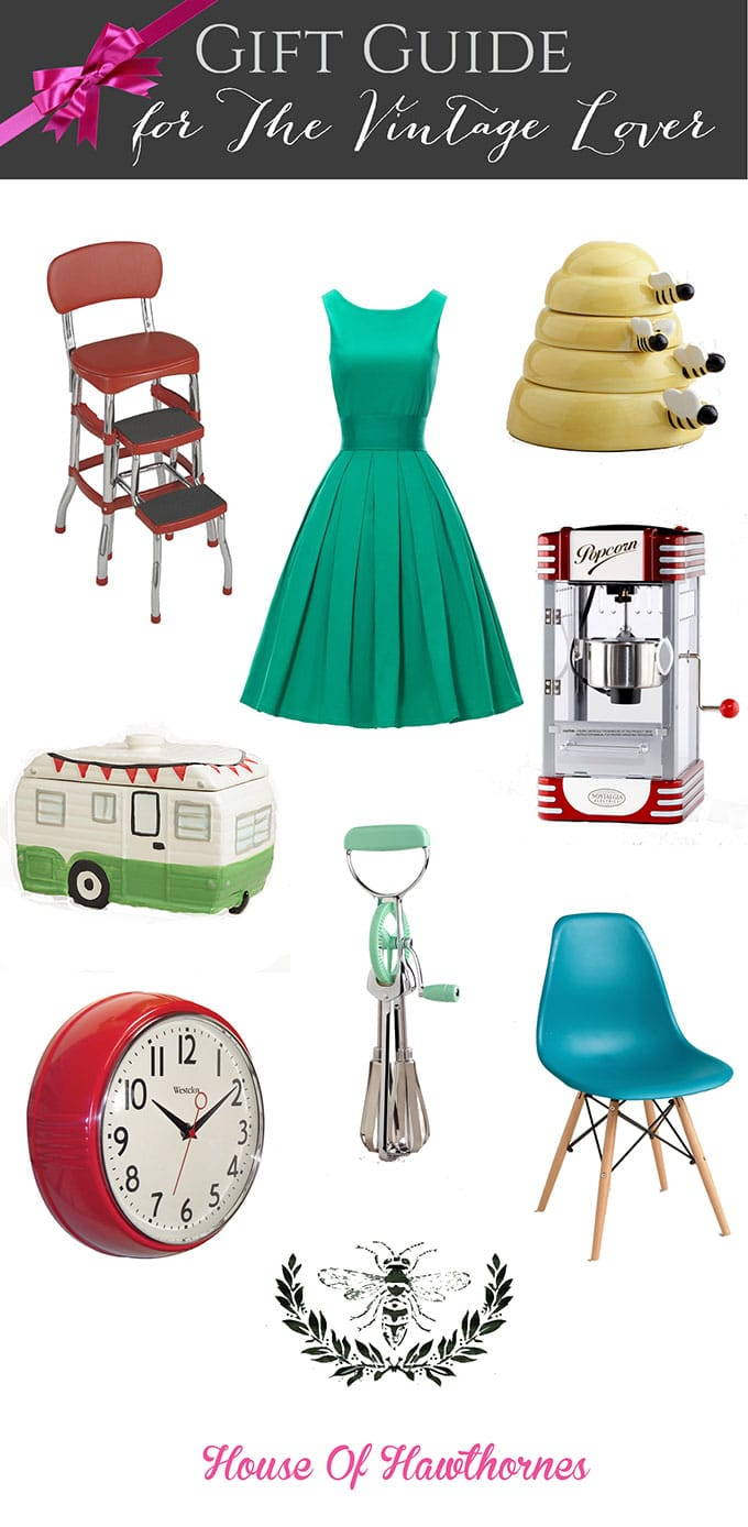 Gift Guide for The Vintage Lover