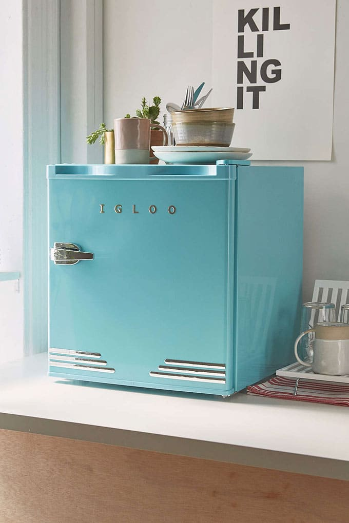Igloo retro style fridge