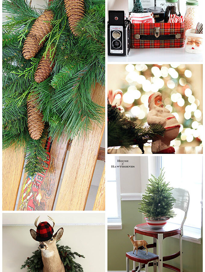 Join me on a festive walk down memory lane of past Christmas decor. Inspiration, ideas and a lot of kitschy retro Christmas decor.