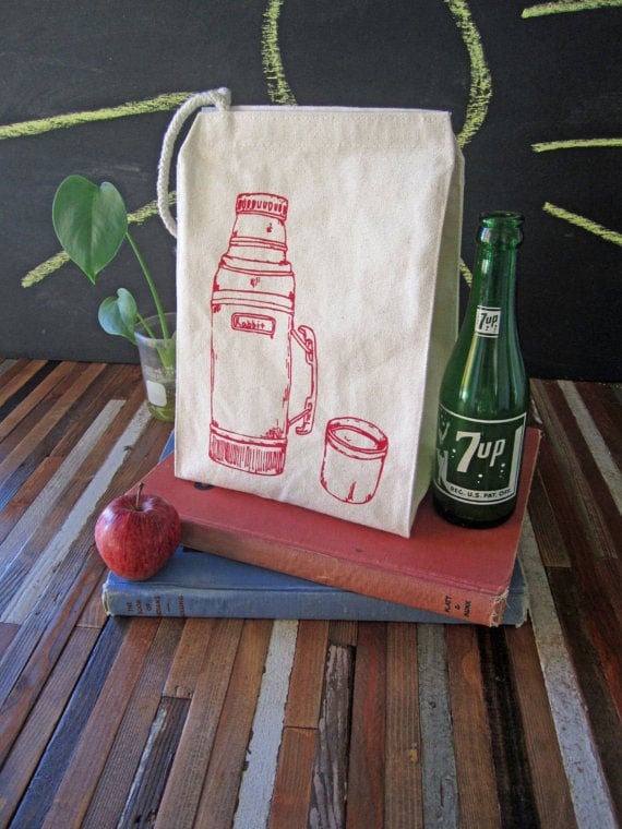 Thermos lunch bag via Oh Little Rabbit