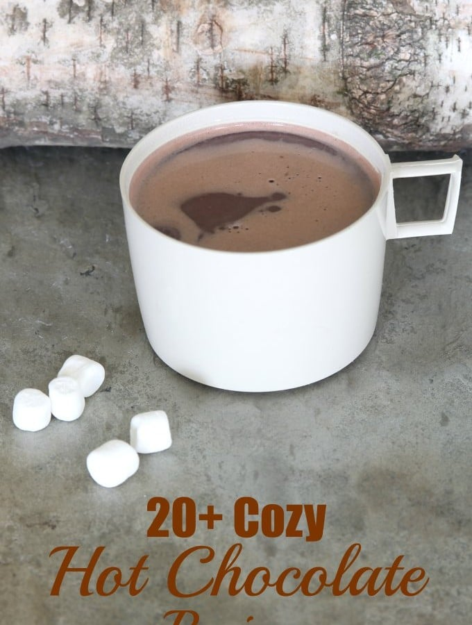 20+ Cozy Hot Chocolate Recipes