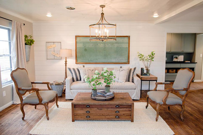 A humorous take on the shiplap home decor trend which unfortunately reminds me of the paneling trend of the 1970's.