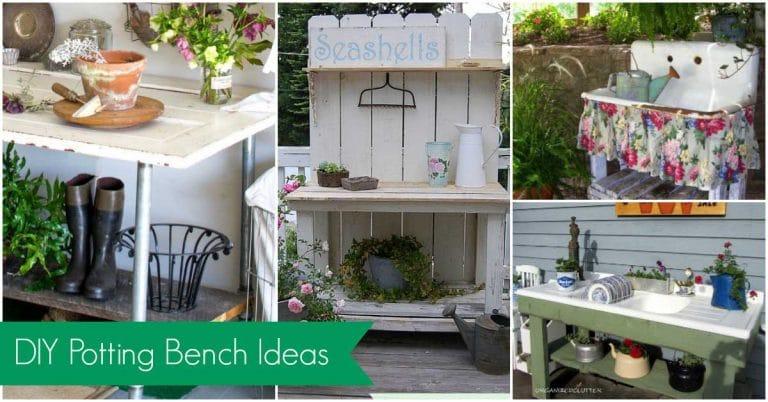 Amazing Diy Potting Bench Ideas House Of Hawthornes Evergreenethics Interior Chair Design Evergreenethicsorg