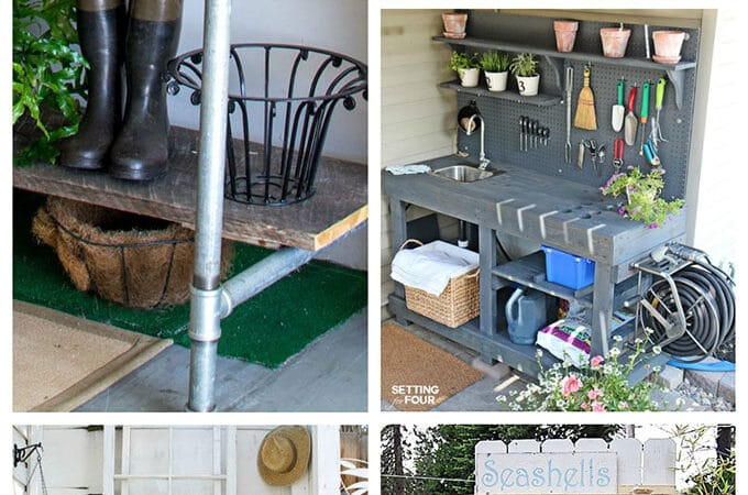 Potting Bench And Table Ideas