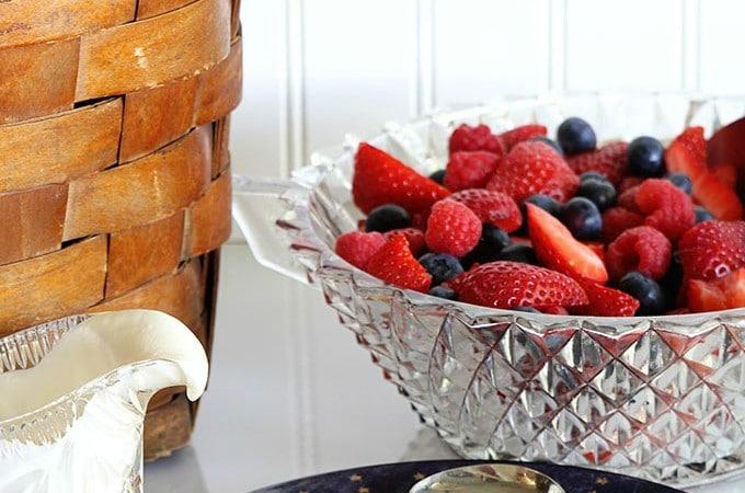 Summer Mixed Berry Salad
