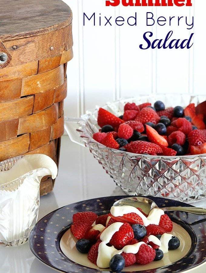 Summer Mixed Berry Salad