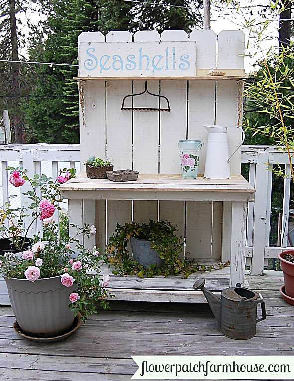 10+ Inexpensive And Inspiring DIY Potting Bench Ideas To Get You In The  Mood For