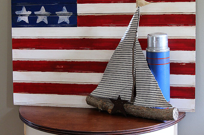 Easy American Flag Craft