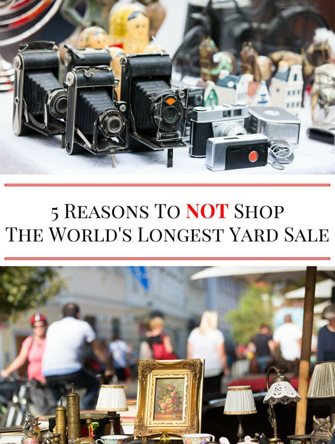 5 Reasons To NOT Shop The World's Longest Yard Sale