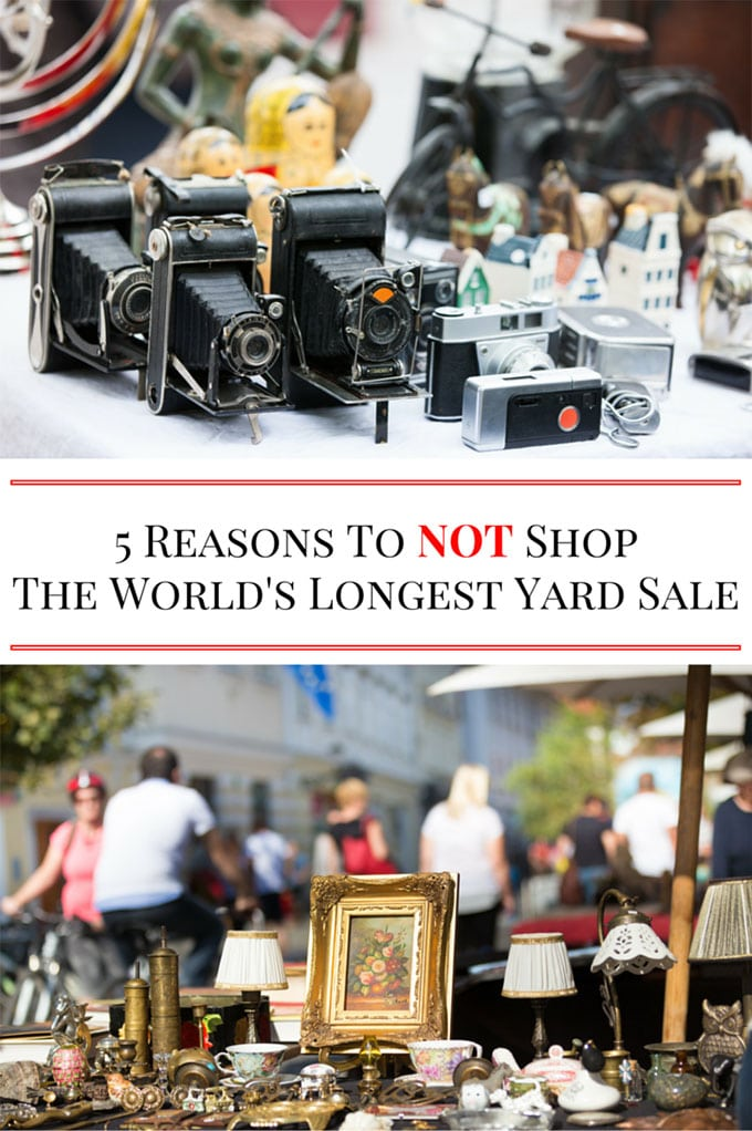 5 reasons to not shop the world 39 s longest yard sale Longest house in the world