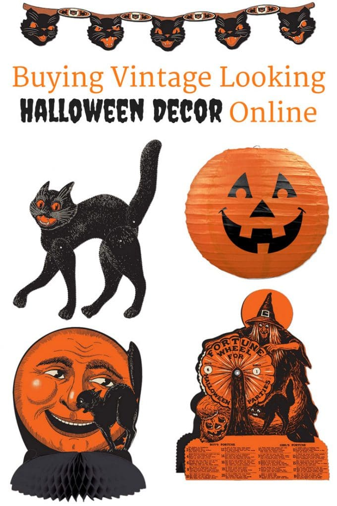 Vintage beistle halloween decorations - Vintage Looking Beistle Halloween Decor Is A Fun Retro Way To Decorate For Fall Lots