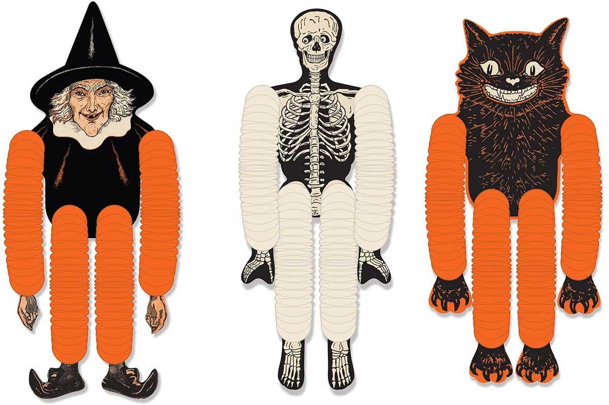 Halloween Tissue Dancers from Beistle