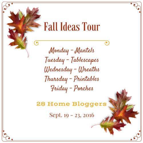 28 Home Decor Bloggers share their best fall home decor ideas!