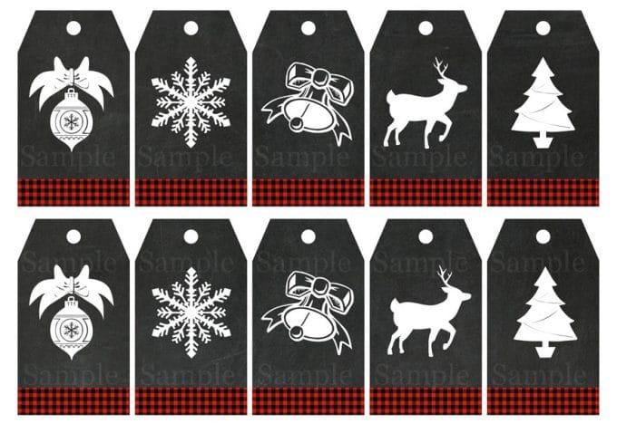 buffalo-check-chalkboard-gift-tags