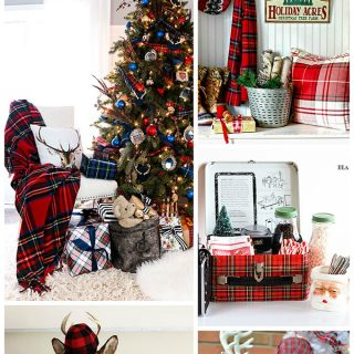 plaid-christmas-decor-ideas