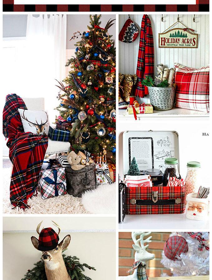 Plaid Christmas Decor Ideas For The Holidays