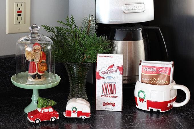 Target Christmas camper decor