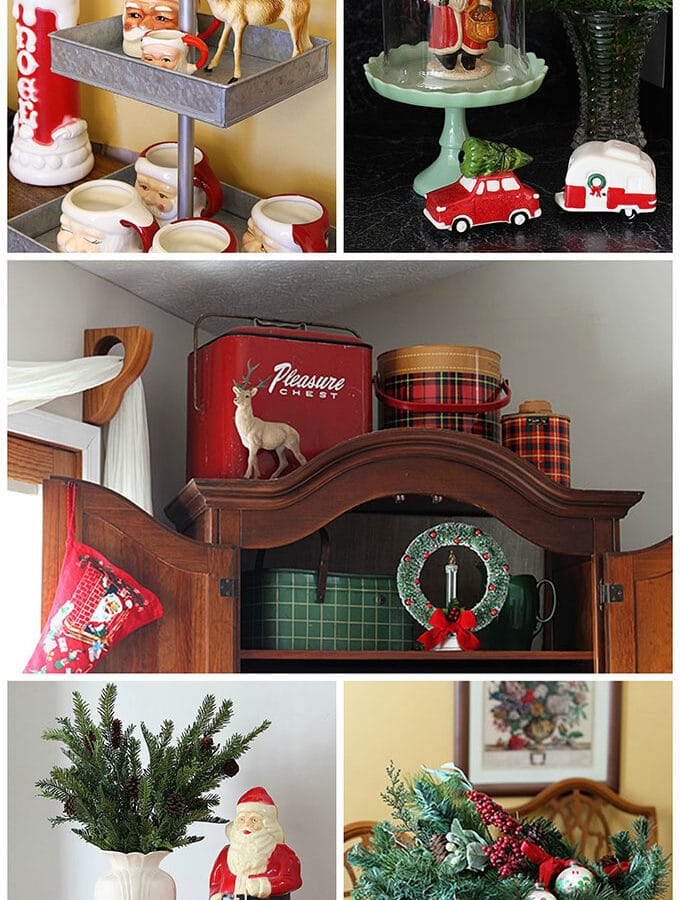 A Vintage, Farmhouse, Retro Kind Of Holiday Home Tour
