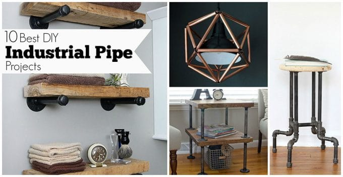 10 Best Diy Industrial Pipe Projects House Of Hawthornes