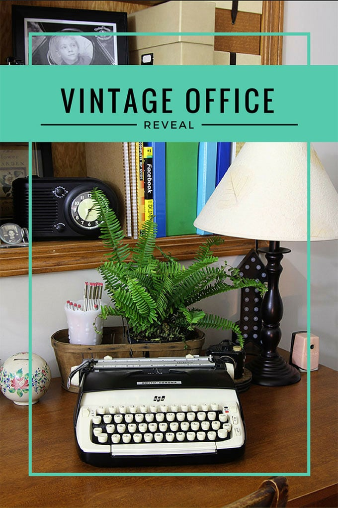 Superbe Vintage Home Office | Home Office Ideas With An Eclectic Vintage Design  Style. An Office