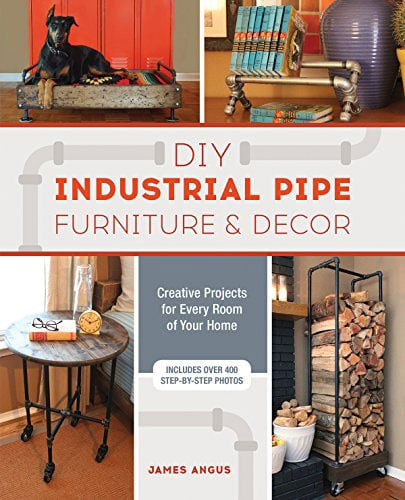 DIY industrial pipe furniture book