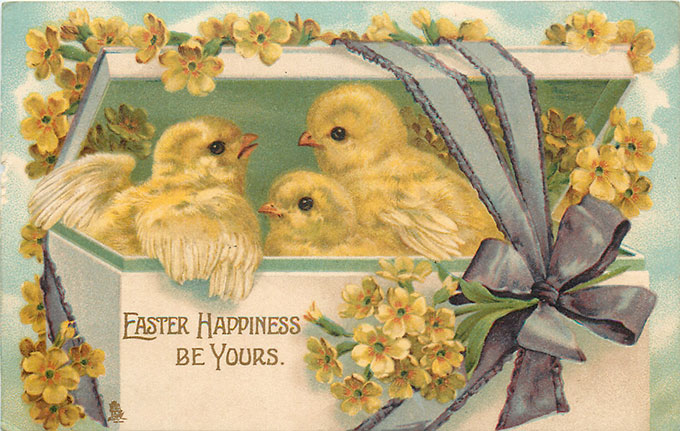 image relating to Free Printable Vintage Images titled Classic Easter Visuals: Cute Totally free Printables - Space of