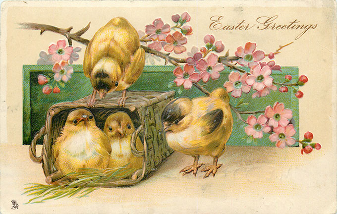 Vintage Easter Images Adorable Free Printables