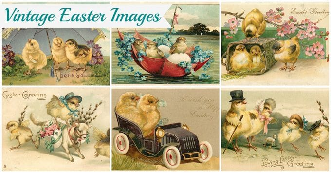 Vintage Easter Images Adorable Free Printables House Of Hawthornes