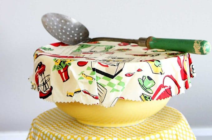 DIY Reusable Bowl Covers And Food Wrap