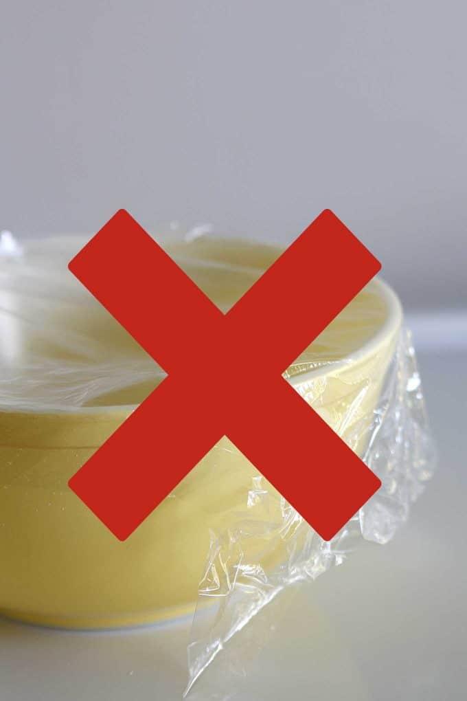 Simple plastic wrap alternative