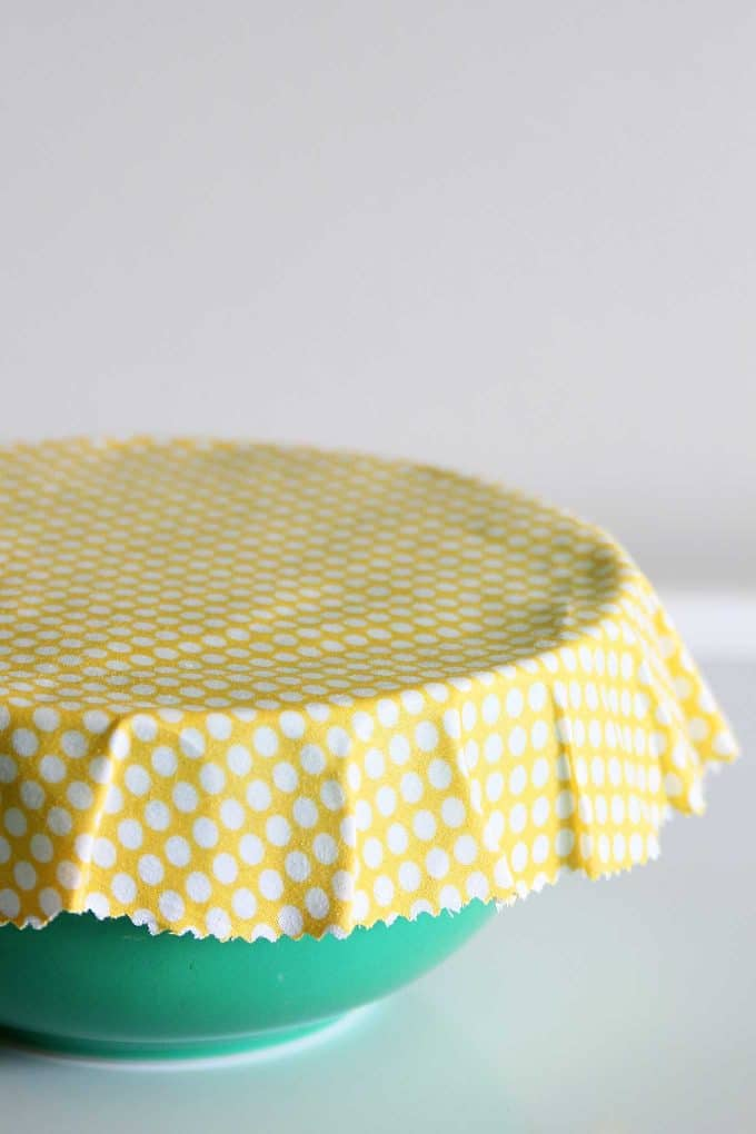 Polka dot DIY bowl covers