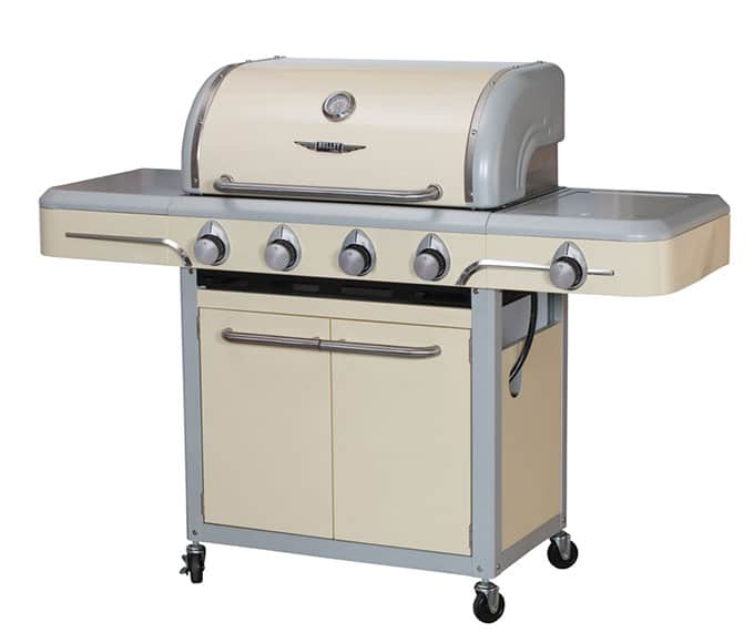 Retro style gas grill - Bull Bel Air grill