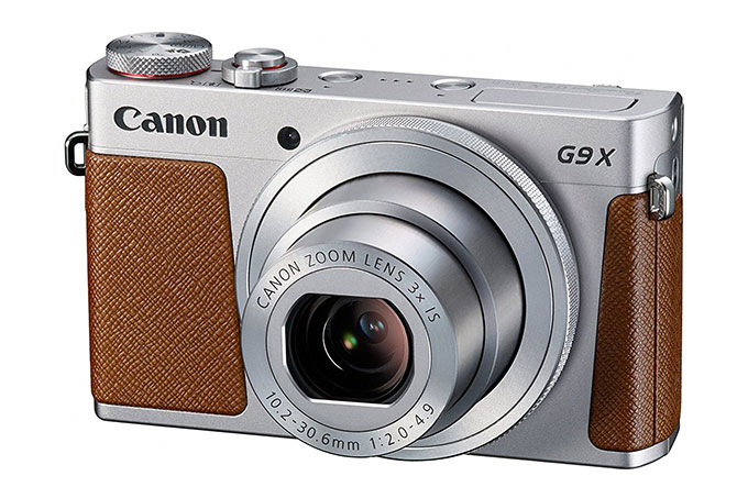 Canon G9X Mark II retro looking camera