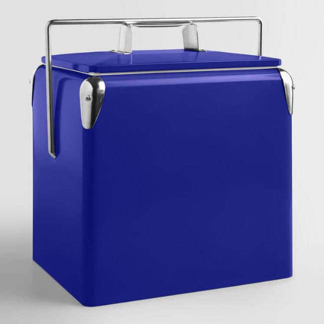 Retro looking drink cooler for 4th of July