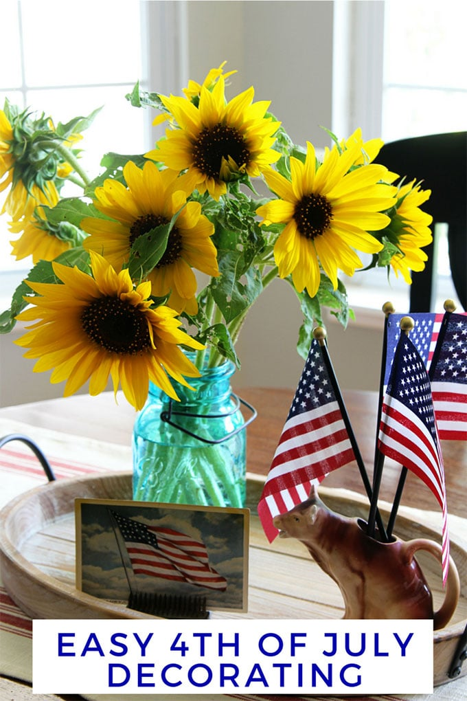 Vintage Eclectic Meets Farmhouse 4th Of July Style House Of