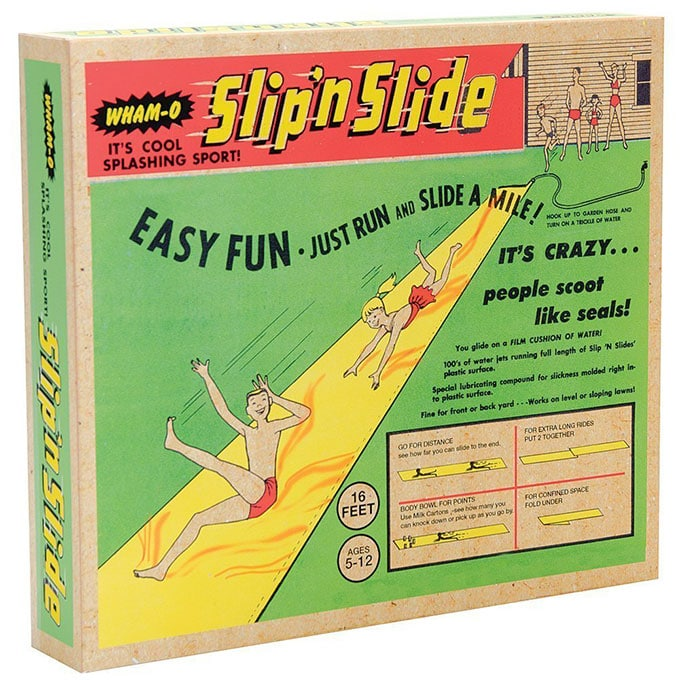 Retro styled Slip n Slide