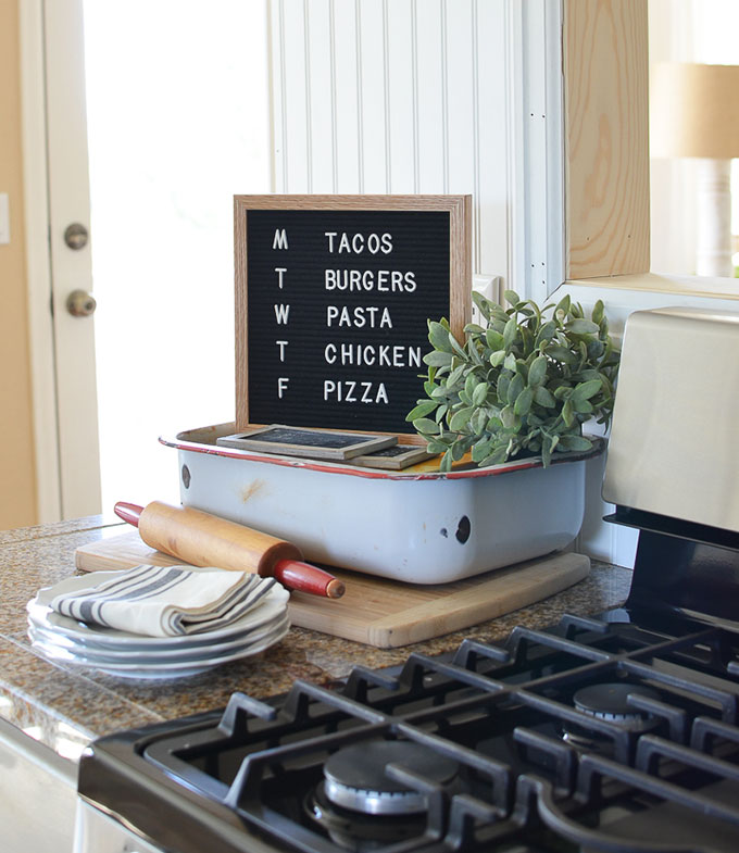 5 ways to use a letter board in your home decor