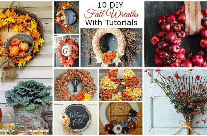 10 DIY Fall Wreaths For Your Front Door